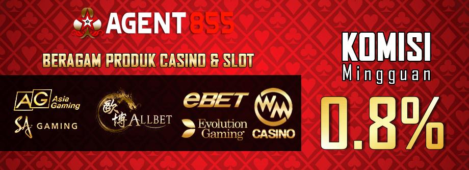 Komisi Live casino 0,8%